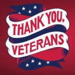 Thank you, Veterans artwork
